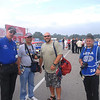 NHRA Announcer Alan Reinhart, Joe Fuchita, John Rogers and David Smith