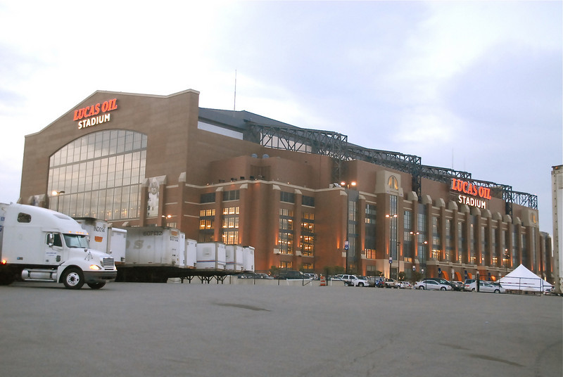 Lucas Oil Stadium where the Colts Play