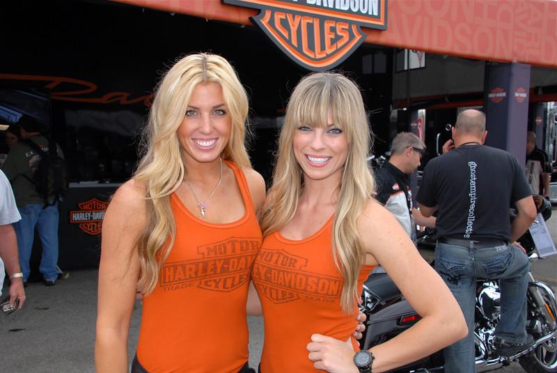 Harley girls Natalie and Jennifer