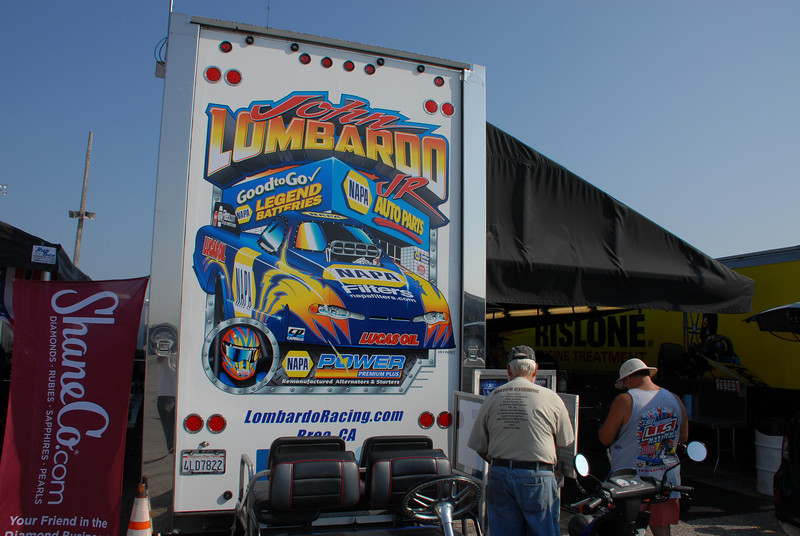 Everyone thought John Lombardo was Ron Capps....lol