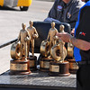 Trophys for Sportsman racers.