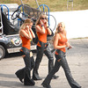 The Harley Girls catching some Pro Qualifying