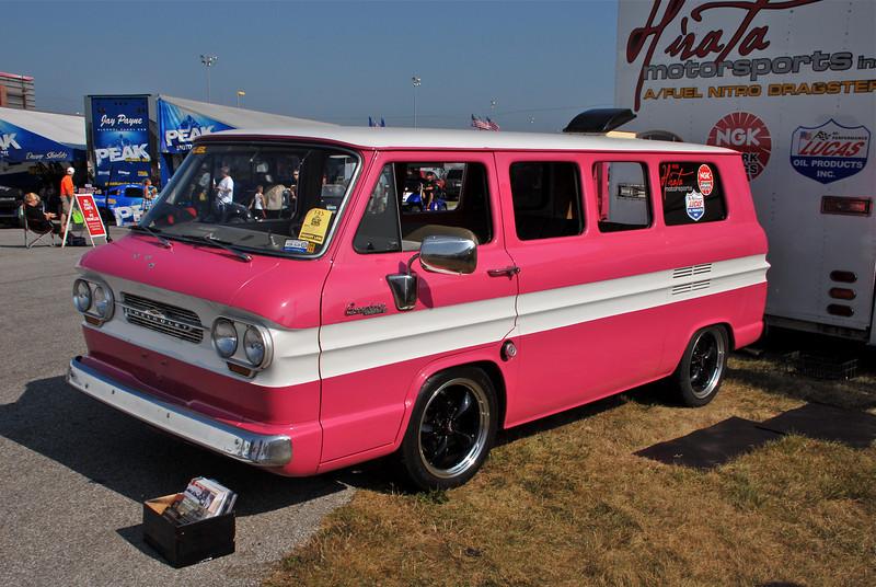 A Clean old Corviar Van