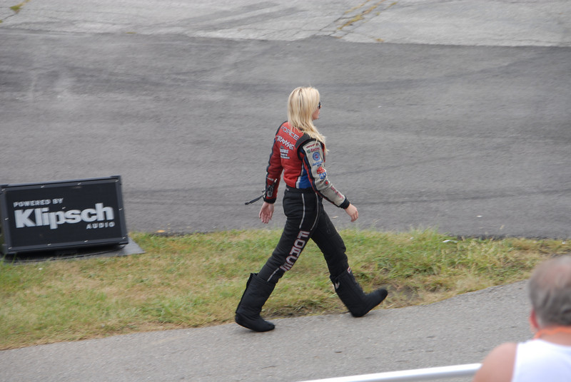 Courtney Force was Not happy losing 1st round