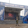 Stage at the Track