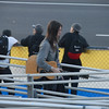 Can you believe this guy brought his Guitar to the track?