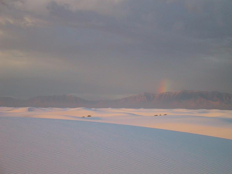 Moondog at White Sands