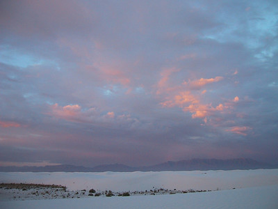 Morning at White Sands