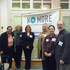 JDI staff reveal No More campaign at 2012 Advocacy Day.