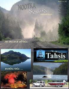 Tahsis, Nootka Sound, British Columbia. August 2, 2012
