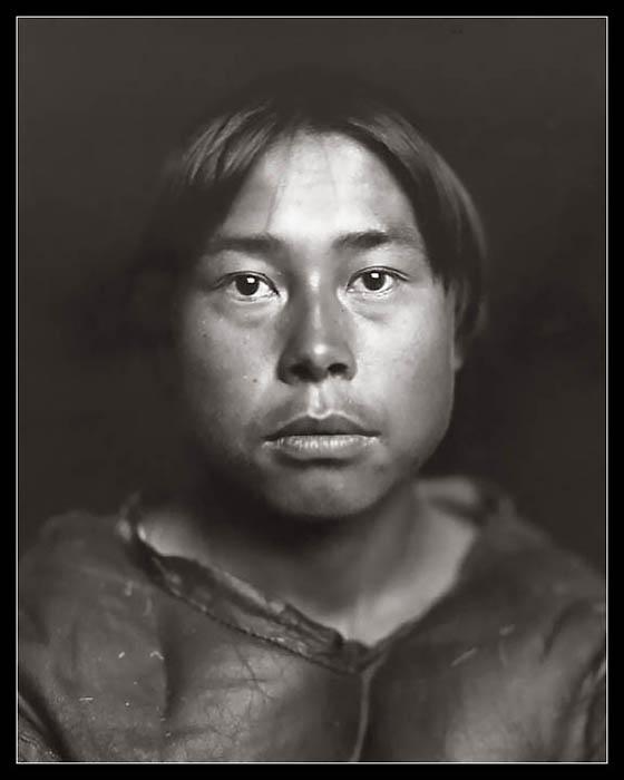 """ESKIMO"" by unknown.Alaska,USA.-----""ESKYMAK"",fotograf neznamy.Aljaska,USA."