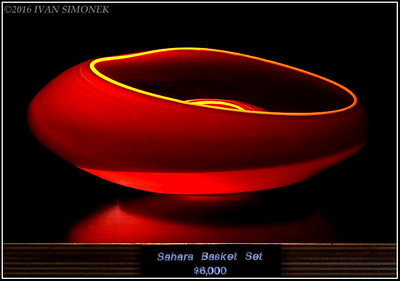 """CHIHULY  GLASS 1""."