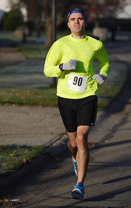 Ryan McCartney of Cleveland placed 2nd overall with a time of 18:02.1. Photo by Ray Riedel