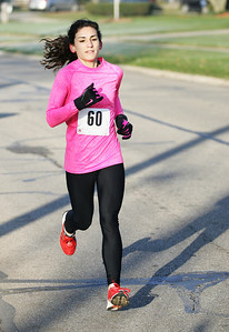 Bethany Cicerchi of North Ridgeville was the 3rd female finsiher and 8th place overall with a time of 20:07.4. Photo by Ray Riedel