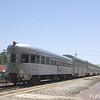 Southbound #59, The City of New Orleans, departs after a station stop in Hammond, LA.  Private varnish, a former Santa Fe HiLevel coach and round end observation car L&N drum head The Crescent are on the rear of the train.  4/19/2008.  Photo taken by Forrest Becht during a chapter outing.