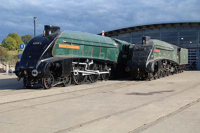 A4 4-6-2 60008 'Dwight D Eisenhower' (Now back in America)   20/10/12