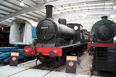 Steam 65033 at NRM Shildon 24/06/12.