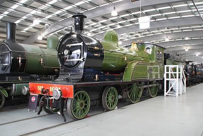 Steam 1621 at NRM Shildon 24/06/12.