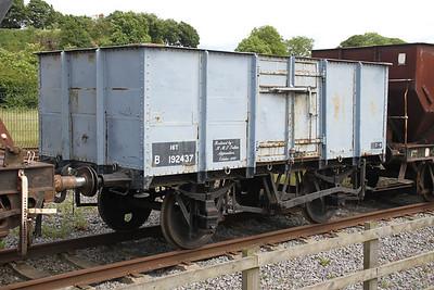16T Mineral wagon B192437 at the NRM Shildon 24/06/12