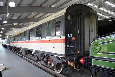 MK1 21274 in Inter City Livery at NRM Shildon 24/06/12.