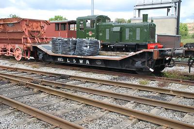 LSWR 11813 at the NRM Shildon 24/06/12