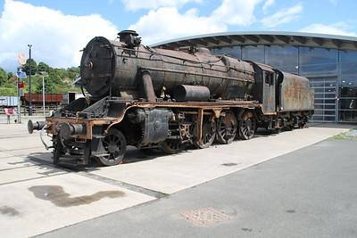 Repatriated 8F 45170 at NRM Shildon 24/06/12.