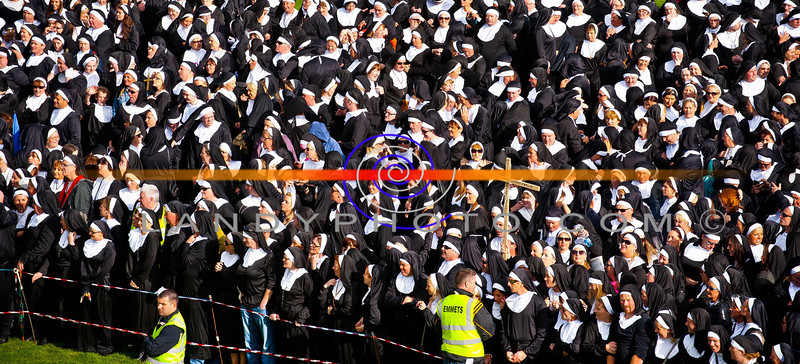 "Nunday 30th June 2012. where  the Guinness Book of Records had a new record broken when 1436 people dressed as Nuns gathered in Listowel Emmetts football pitch to raise funds for Pieata House.<br /> Photo Brendan Landy<br /> <br /> Copyright Image..All rights reserved...Please do not copy, print or download image , any breaches will result in all images been removed, depriving others the right to see images.<br /> <br /> All images can be seen  and ordered from <a href=""http://landyphoto.smugmug.com/Other/NUNDAY-PHOTOGRAPHS"">http://landyphoto.smugmug.com/Other/NUNDAY-PHOTOGRAPHS</a><br /> <br /> All profits going to NUNDAY /Pieata House"