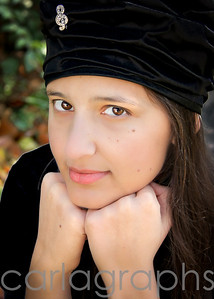 Lydia with Black Hat-