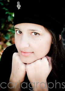 Lydia with Black Hat 2-