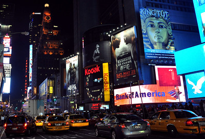 Times Square, New York.