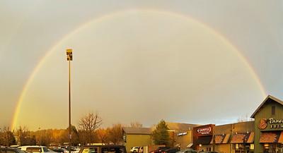 Rainbow over Woodinville.