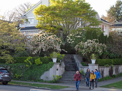 One of the nice houses next to Kerry Park Viewpoint (Queen Anne).
