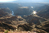 "fish river canyon.  google earth: 27º34'58.79""S  17º36'42.20""E"