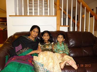 Nandu 6 th B'Day, Winter 2012,