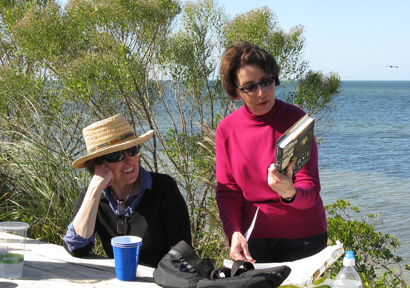 Naomi's birthday, 2012.  Anna Maria Island Adventure with Betsy, Marianne, Gail, Ernie, Duane, Jack, and Jim. Also Sarasota and Tampa.   Jan. 2012