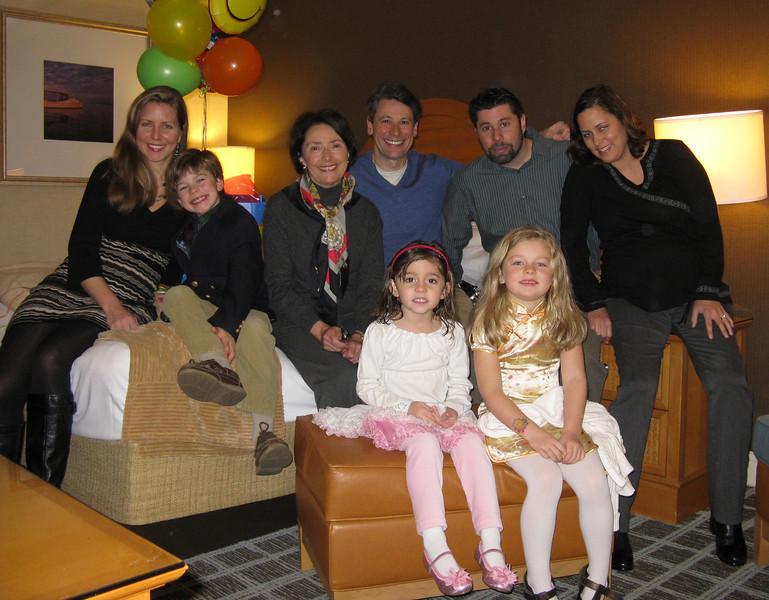 Naomi's Birthday. Jan. 2012. Surprise party by family, Cambridge, Maryland.