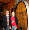 Audra and Matt take a behind-the scenes tour at Schug Winery.