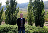 Matt enjoying the Schug vineyards in the Sonoma valley.