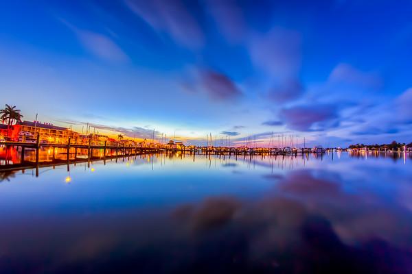 Naples Dock Pier Fisheye 2014