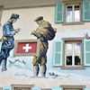 Swiss customs fresco