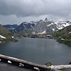 the lake on the Gd St Bernard Pass