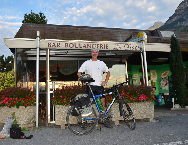 Starting Line: Cristina's bar, Valais Switzerland