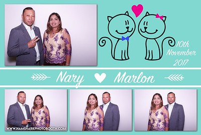 Nary and Marlon Wedding