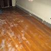Water damage to Agnes Barker house, 100 Wellington Street, Nashua, NH. February 13, 2009.