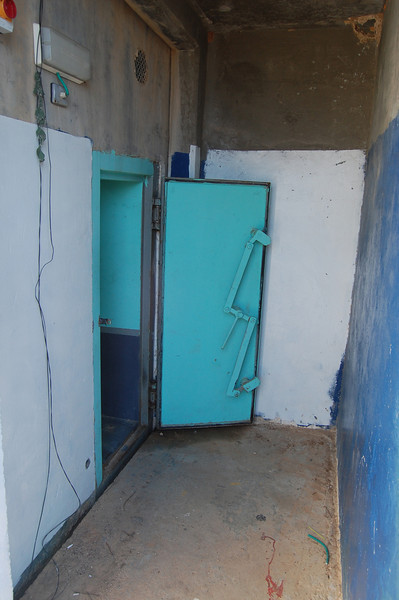 Bomb shelter in northern Israel