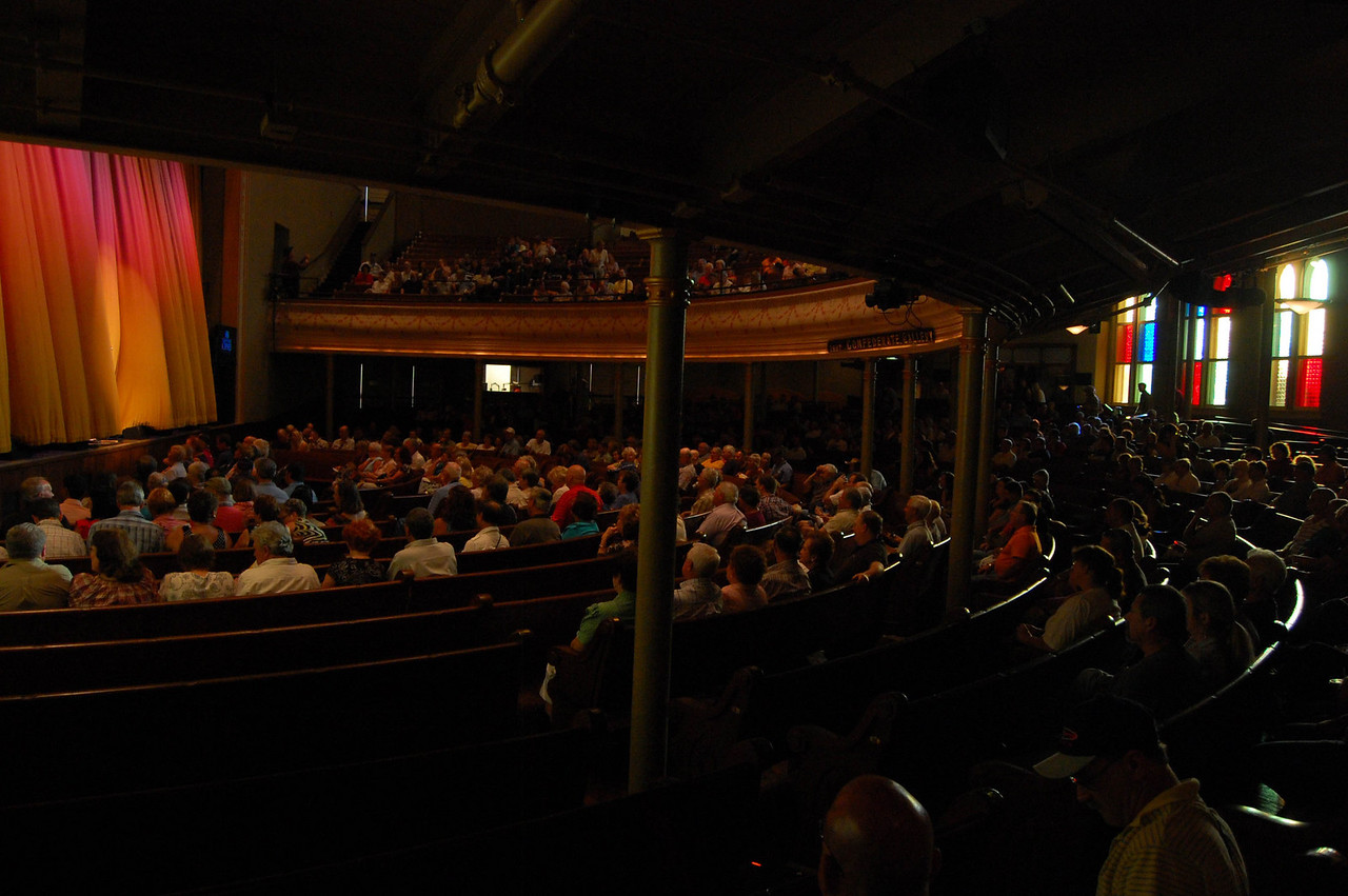 The Ryman - just before the Grand Ole Opry show