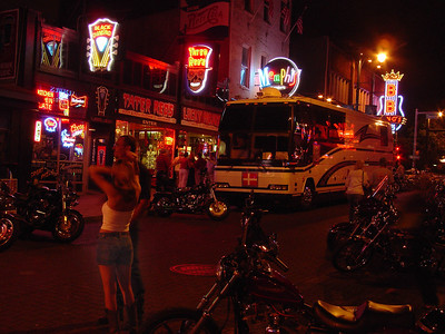 Beale Street in Memphis - August 2006