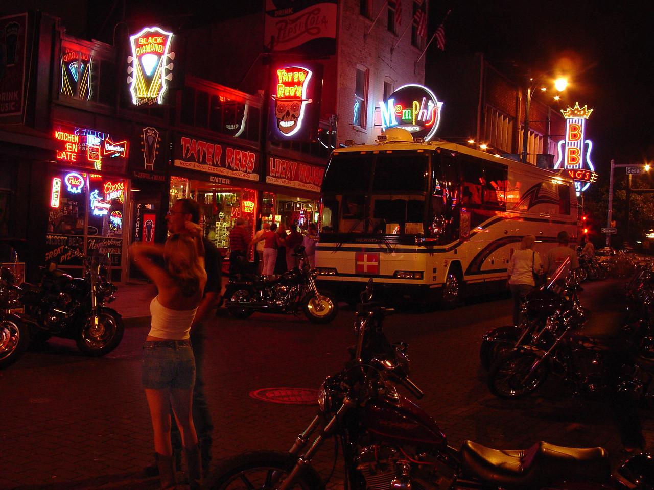 Beale Street in Memphis - August 2006