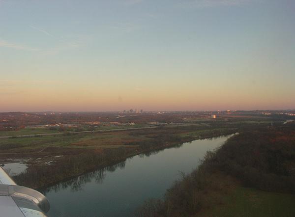 Flying back to Nashville