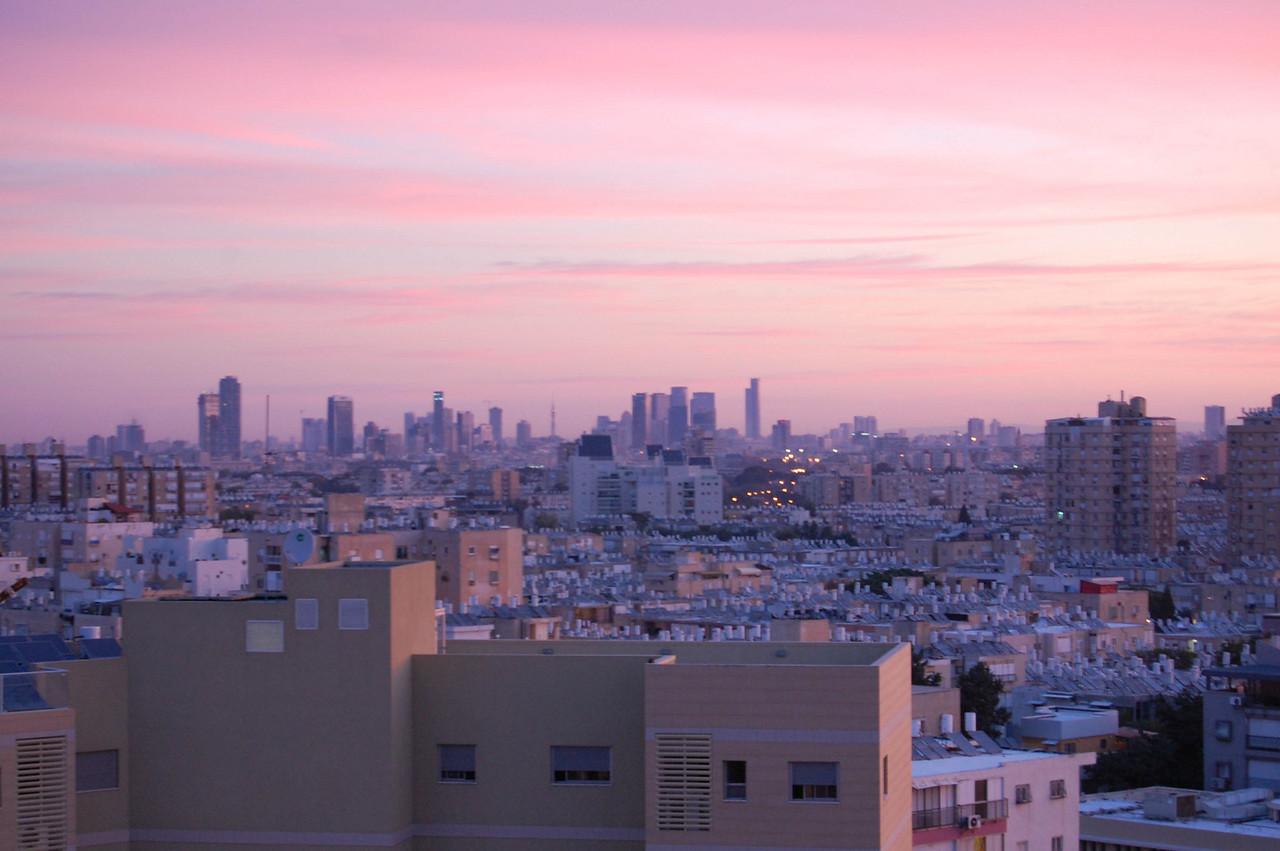Looking at Tel Aviv from Bat Yam
